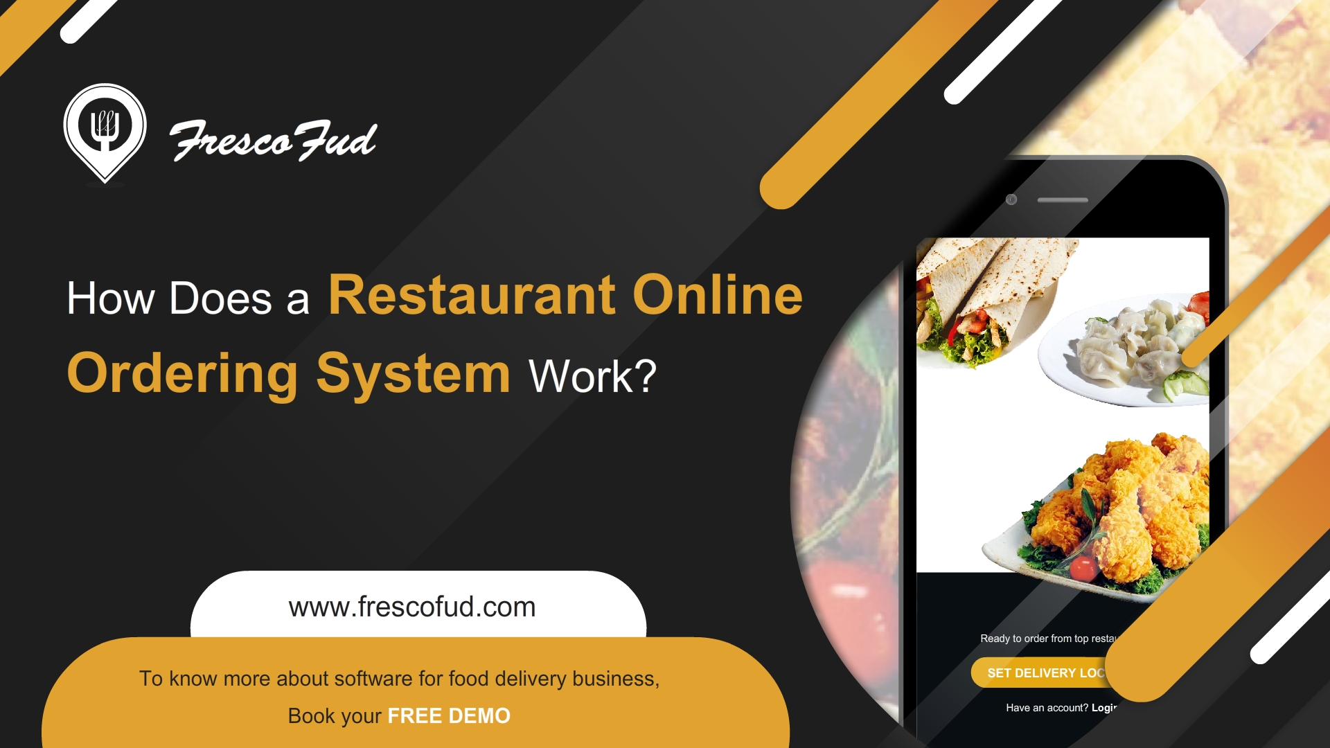 How Does a Restaurant Online Ordering System Work?