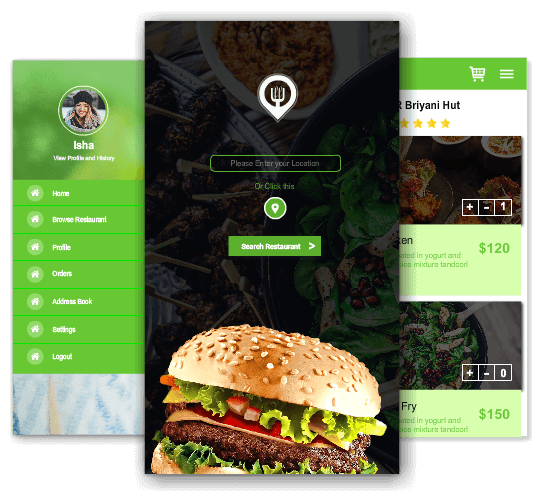 online food ordering app for restaurants