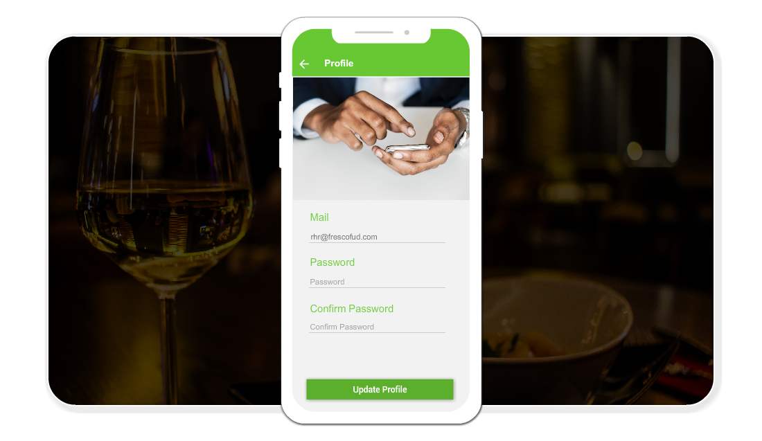 Mobile Ordering App For Restaurant